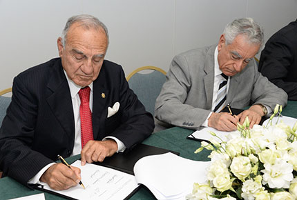 LAU and the University of Balamand, the Beginning of a Fruitful Alliance