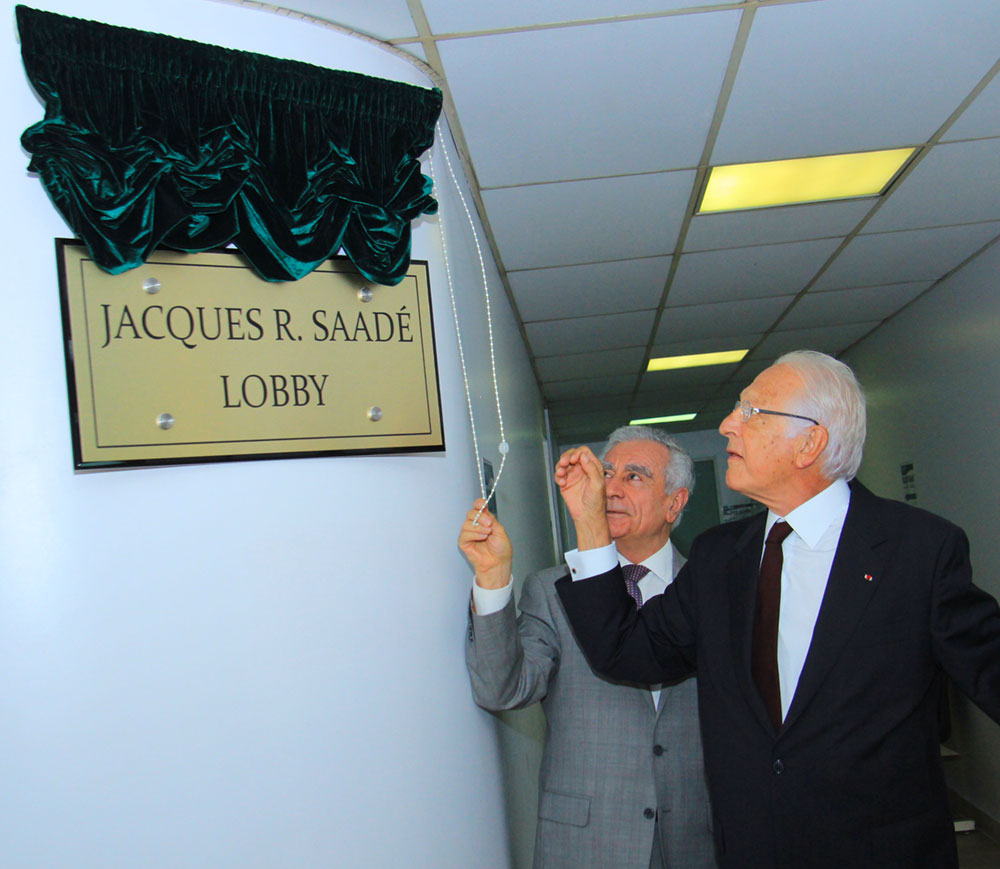 Jacques Saadé Offers Invaluable Support to LAU